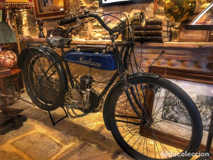 Motos: Antigua primera moto de Motobecane años 20. 1923 - Foto 3 - 184048353