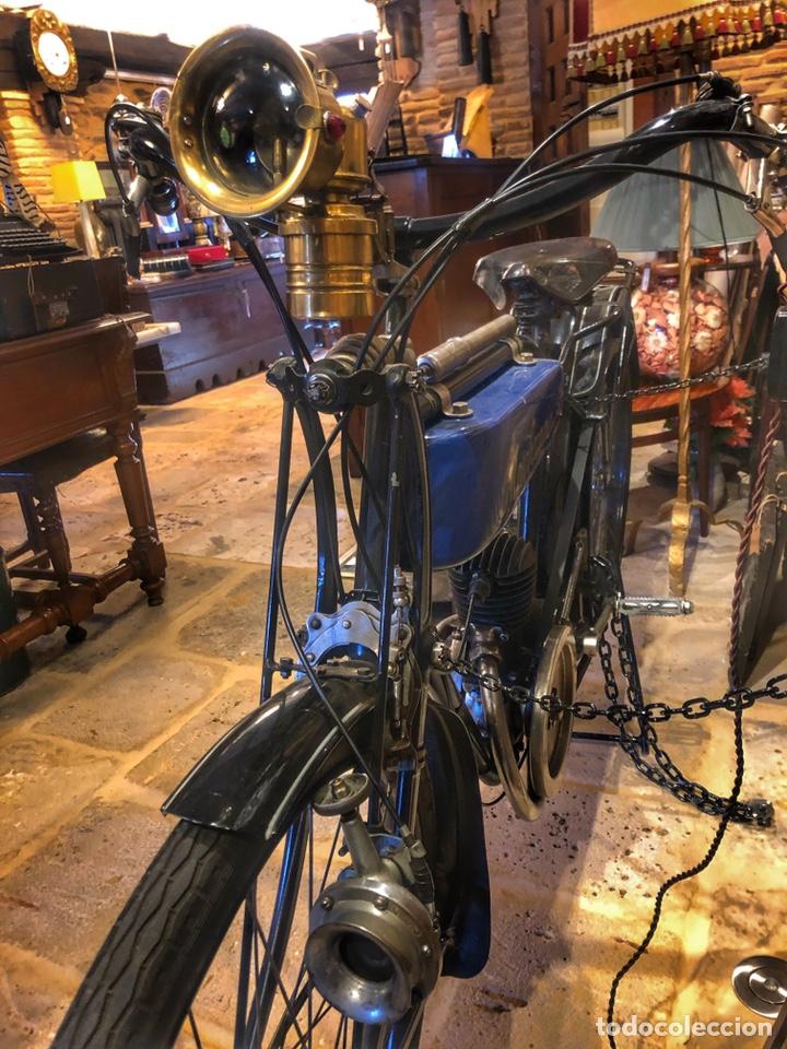 Motos: Antigua primera moto de Motobecane años 20. 1923 - Foto 4 - 184048353