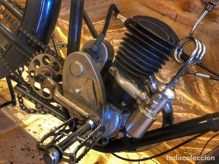 Motos: Antigua primera moto de Motobecane años 20. 1923 - Foto 5 - 184048353