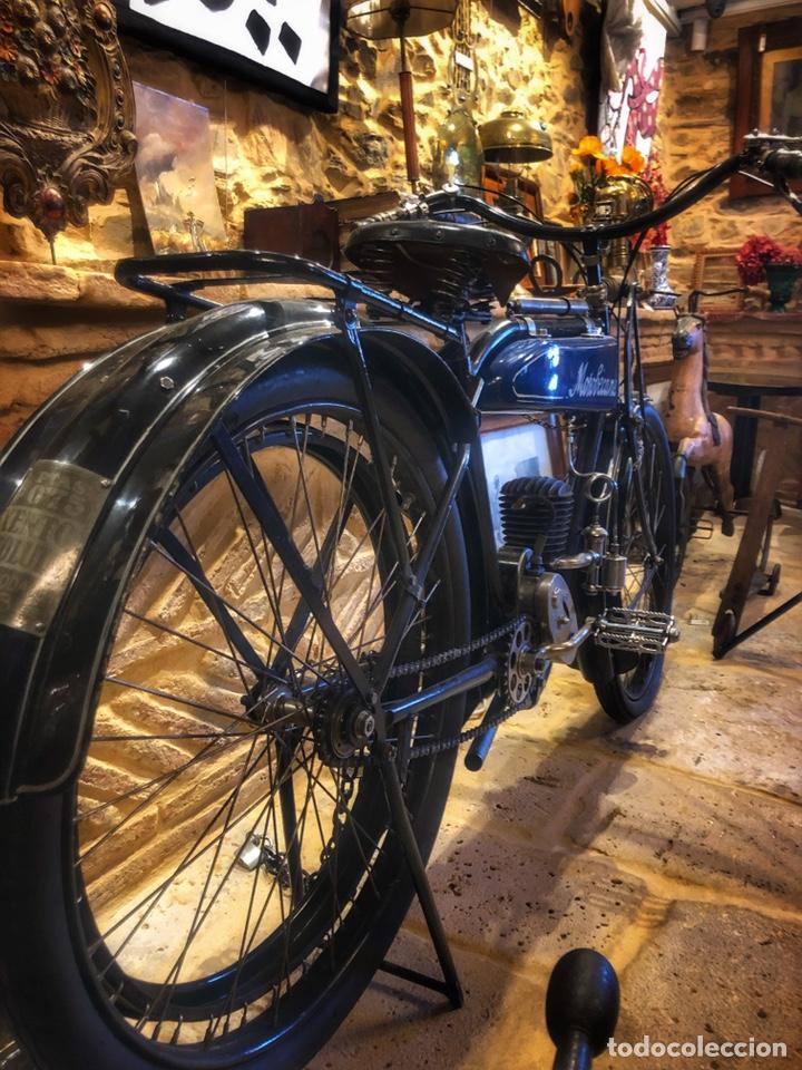 Motos: Antigua primera moto de Motobecane años 20. 1923 - Foto 6 - 184048353