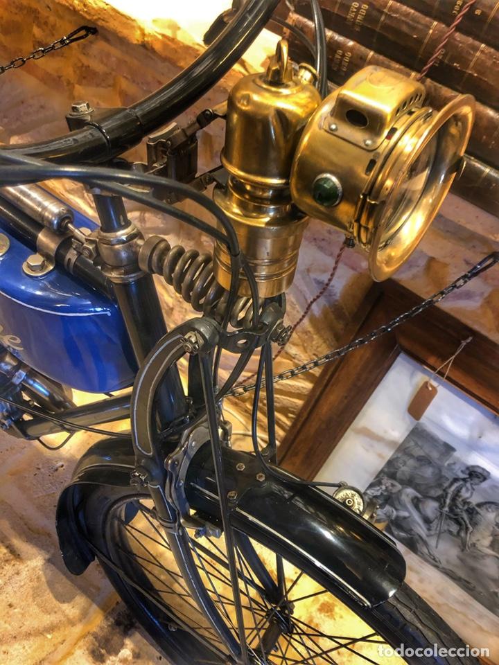 ANTIGUA PRIMERA MOTO DE MOTOBECANE AÑOS 20. 1923 (Coches y Motocicletas - Motocicletas Antiguas (hasta 1.939))