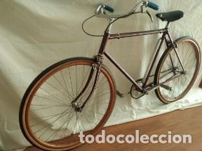 Motos: Bicicleta antigua ruedas madera - Foto 2 - 191608290