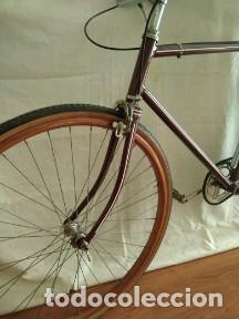 Motos: Bicicleta antigua ruedas madera - Foto 3 - 191608290