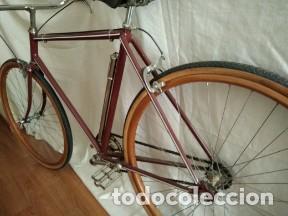 Motos: Bicicleta antigua ruedas madera - Foto 5 - 191608290