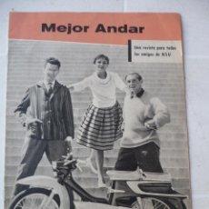 Motos: 1959 NSU MOTOCICLETAS CATÁLOGO REVISTA NSU PRIMA. Lote 197810233