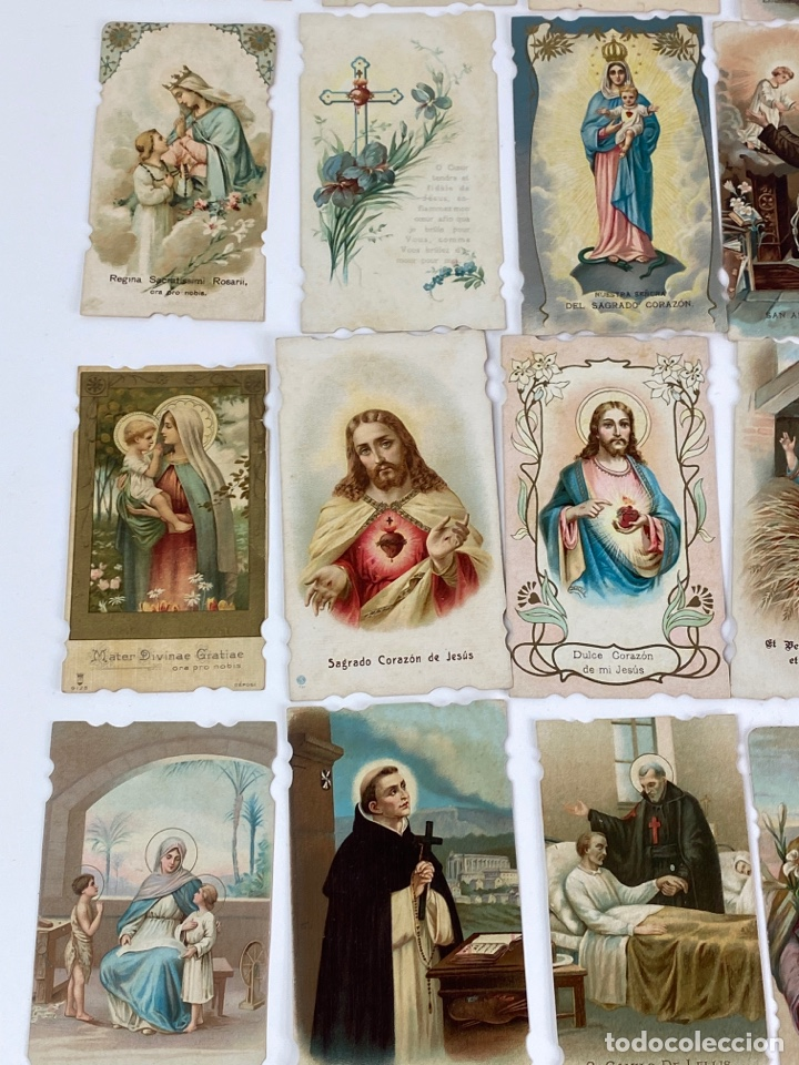 Motos: P-10247. LOTE DE 84 ESTAMPAS RELIGIOSAS (Nº1). - Foto 7 - 198283215