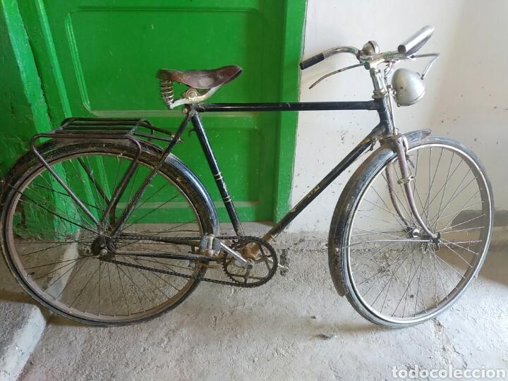 BICICLETA ANTIGUA (Coches y Motocicletas - Motocicletas Antiguas (hasta 1.939))