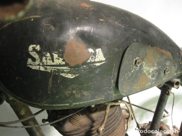 Motos: Motocicleta Saroléa de 1937. Herstal (Bélgica). - Foto 6 - 215869256