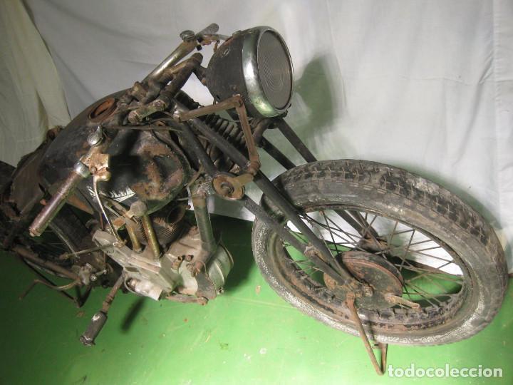 Motos: Motocicleta Saroléa de 1937. Herstal (Bélgica). - Foto 13 - 215869256