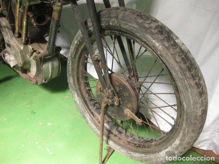 Motos: Motocicleta Saroléa de 1937. Herstal (Bélgica). - Foto 15 - 215869256