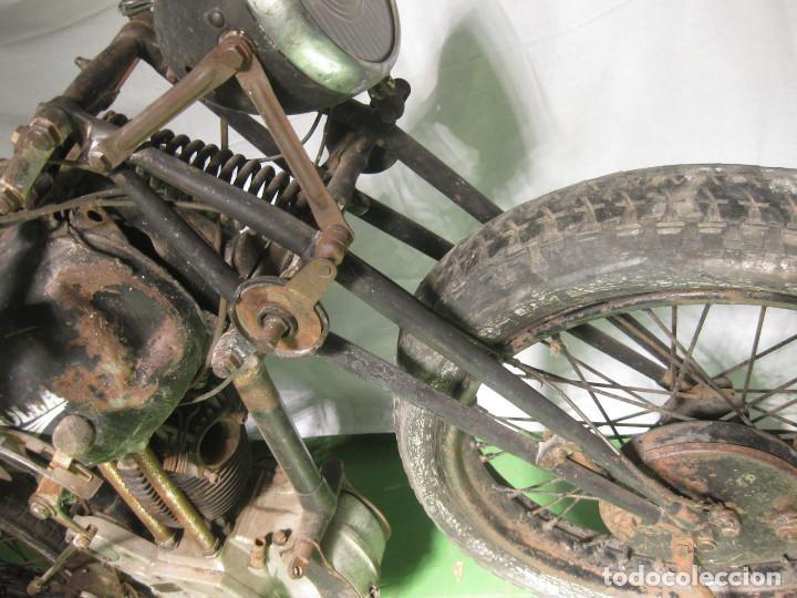 Motos: Motocicleta Saroléa de 1937. Herstal (Bélgica). - Foto 17 - 215869256