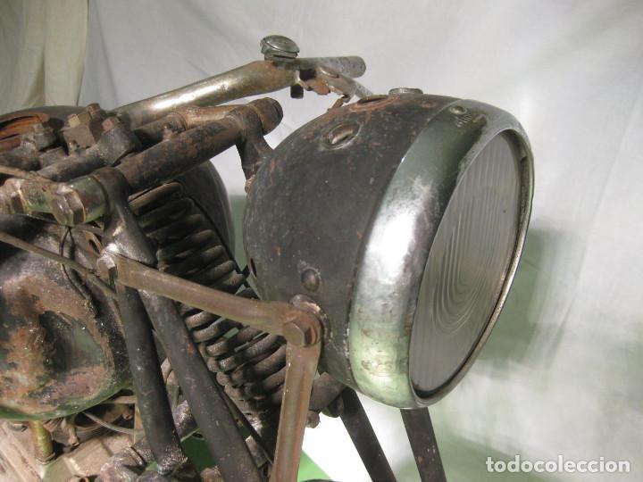Motos: Motocicleta Saroléa de 1937. Herstal (Bélgica). - Foto 18 - 215869256