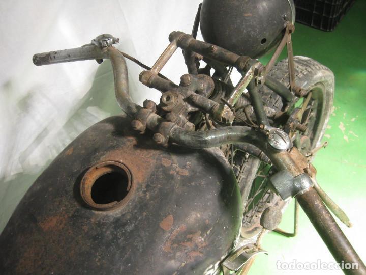 Motos: Motocicleta Saroléa de 1937. Herstal (Bélgica). - Foto 21 - 215869256