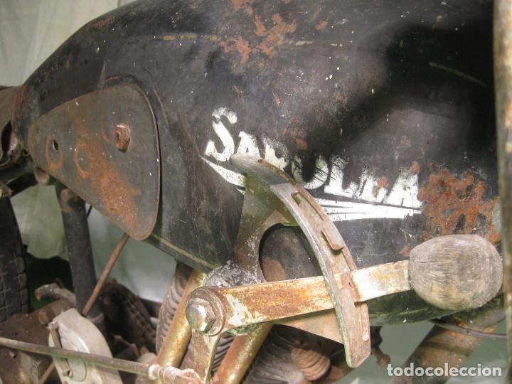 Motos: Motocicleta Saroléa de 1937. Herstal (Bélgica). - Foto 22 - 215869256