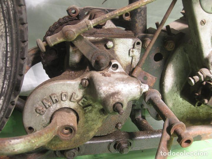 Motos: Motocicleta Saroléa de 1937. Herstal (Bélgica). - Foto 25 - 215869256