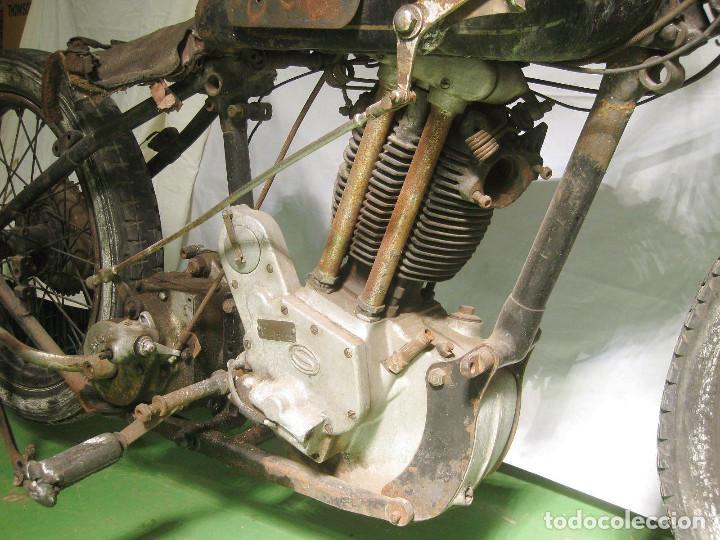 Motos: Motocicleta Saroléa de 1937. Herstal (Bélgica). - Foto 26 - 215869256
