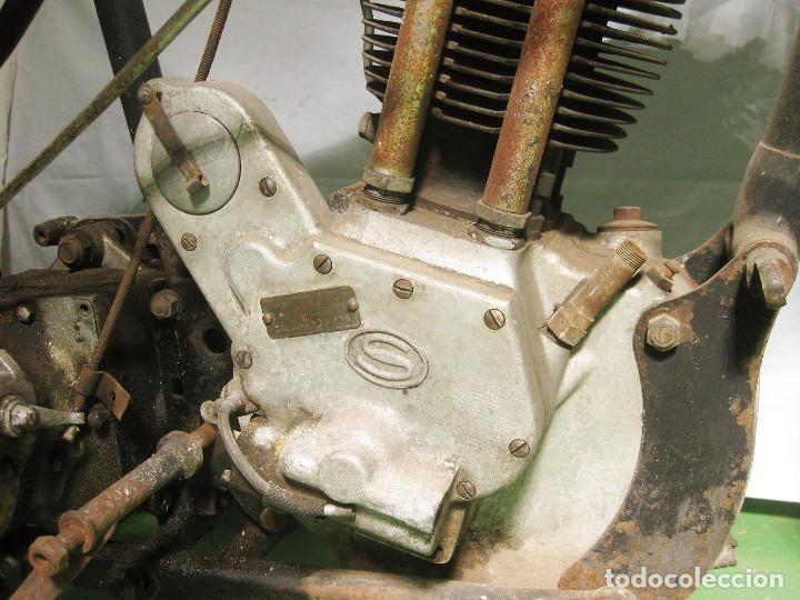 Motos: Motocicleta Saroléa de 1937. Herstal (Bélgica). - Foto 27 - 215869256