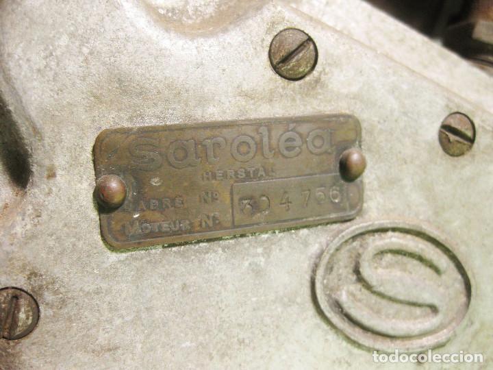 Motos: Motocicleta Saroléa de 1937. Herstal (Bélgica). - Foto 7 - 215869256