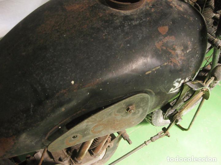 Motos: Motocicleta Saroléa de 1937. Herstal (Bélgica). - Foto 28 - 215869256