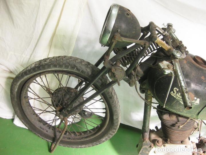 Motos: Motocicleta Saroléa de 1937. Herstal (Bélgica). - Foto 29 - 215869256