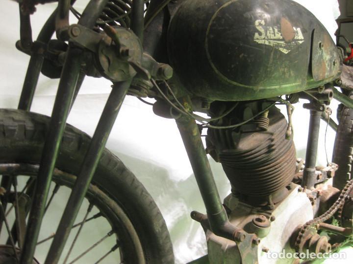 Motos: Motocicleta Saroléa de 1937. Herstal (Bélgica). - Foto 30 - 215869256