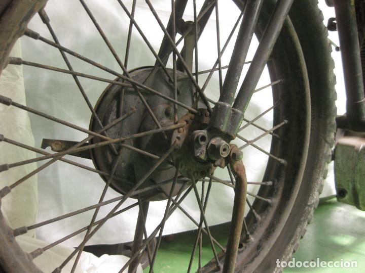 Motos: Motocicleta Saroléa de 1937. Herstal (Bélgica). - Foto 31 - 215869256