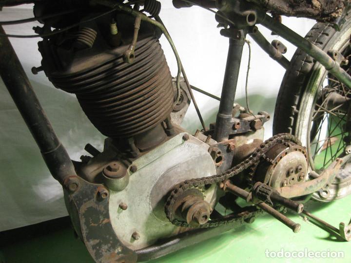 Motos: Motocicleta Saroléa de 1937. Herstal (Bélgica). - Foto 32 - 215869256