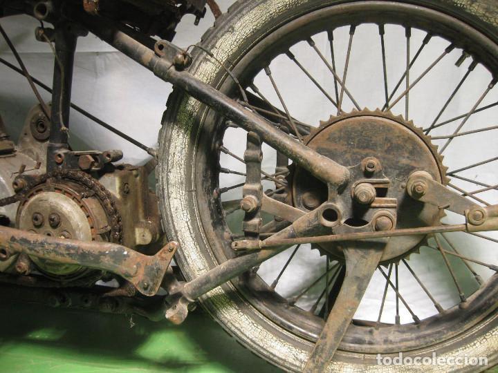 Motos: Motocicleta Saroléa de 1937. Herstal (Bélgica). - Foto 35 - 215869256