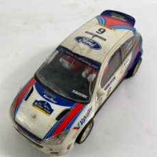 Motos: COCHE SCALEXTRIC FORD FOCUS WRC.. Lote 231282335
