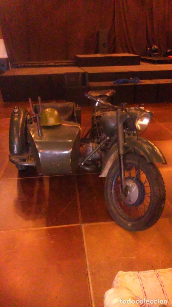Motos: Escepcional BMW R71 confiscada y remontada por el ejercito ruso después de la segunda guerra mundial - Foto 4 - 234815965
