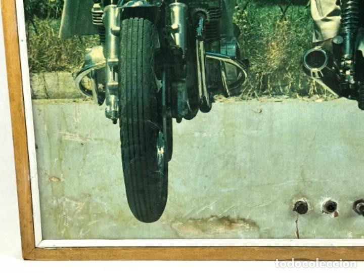 Motos: ANTIGUO PANEL LUMINOSO. CARTEL APRENDIZAJE AUTOESCUELA MOTO KAWASAKI. CON LUCES. FUNCIONANDO - Foto 8 - 254816405