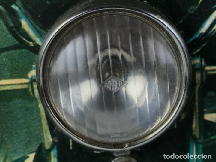 Motos: ANTIGUO PANEL LUMINOSO. CARTEL APRENDIZAJE AUTOESCUELA MOTO KAWASAKI. CON LUCES. FUNCIONANDO - Foto 12 - 254816405