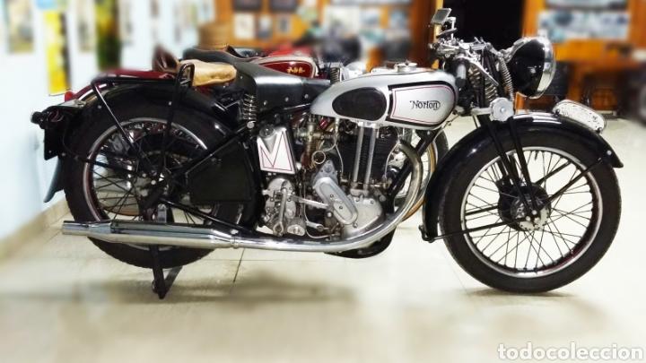 NORTON H18 500CC (Coches y Motocicletas - Motocicletas Antiguas (hasta 1.939))
