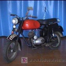 Motos: ISO MOTO 125CC DOCUMENTACION. Lote 10302369