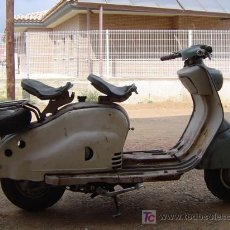 Motos: LAMBRETTA 125 AÑOS 50. Lote 18706570