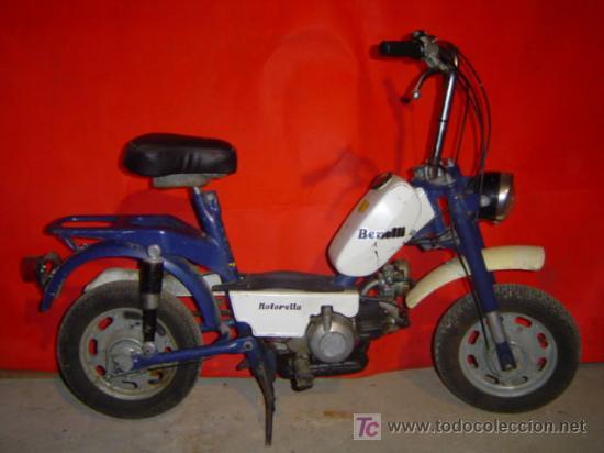 BENELLI MOTORELLA 49 (Coches y Motocicletas - Motocicletas Clásicas (a partir 1.940))