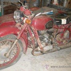 Motos: MOTO CON SIDECAR RUSA. Lote 25604084