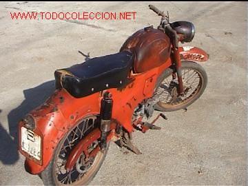 GUZZI LARIO 110 MOTO (Coches y Motocicletas - Motocicletas Clásicas (a partir 1.940))