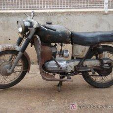 Motos: BULTACO MERCURIO 155, (1965) DE BAJA, SE PUEDE REHABILITAR, MOTOR BIEN. Lote 20649351
