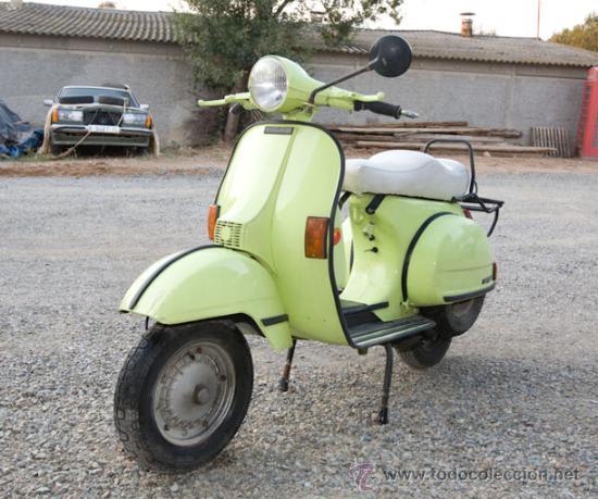 VESPA 200 DE MARCHA Y CON PAPELES (Coches y Motocicletas - Motocicletas Clásicas (a partir 1.940))