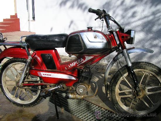 MOBYLETTE CAMPERA (Coches y Motocicletas - Motocicletas Clásicas (a partir 1.940))