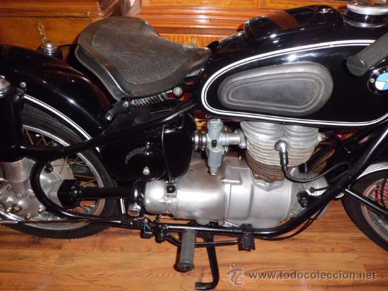 Motos: BMW R26- MOTO ANTIGUA RESTAURADA - DOCUMENTACION Y SEGURO -- FUNCIONANDO. - Foto 6 - 27003498