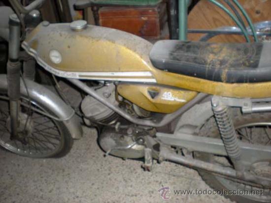 DERBY COYOTE (Coches y Motocicletas - Motocicletas Clásicas (a partir 1.940))