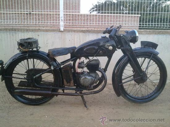 moto clasica lube 99 de 1949, primera serie ch - Comprar ...