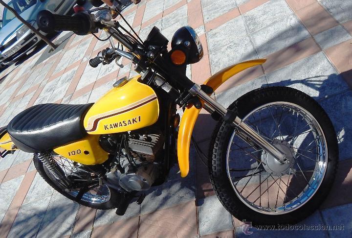 Motos: Moto Kawasaki G5, 100 cc., Año 1972, 5 marchas, Clásica, Totalmente revisada, Moto procedente de USA - Foto 2 - 42354881
