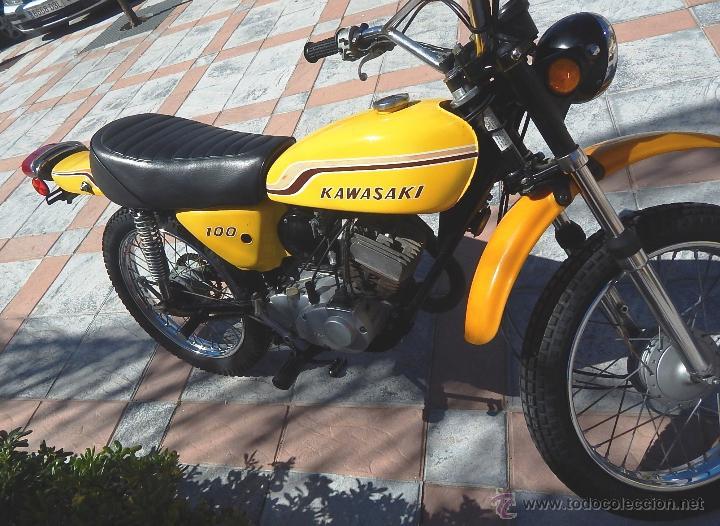 Motos: Moto Kawasaki G5, 100 cc., Año 1972, 5 marchas, Clásica, Totalmente revisada, Moto procedente de USA - Foto 3 - 42354881