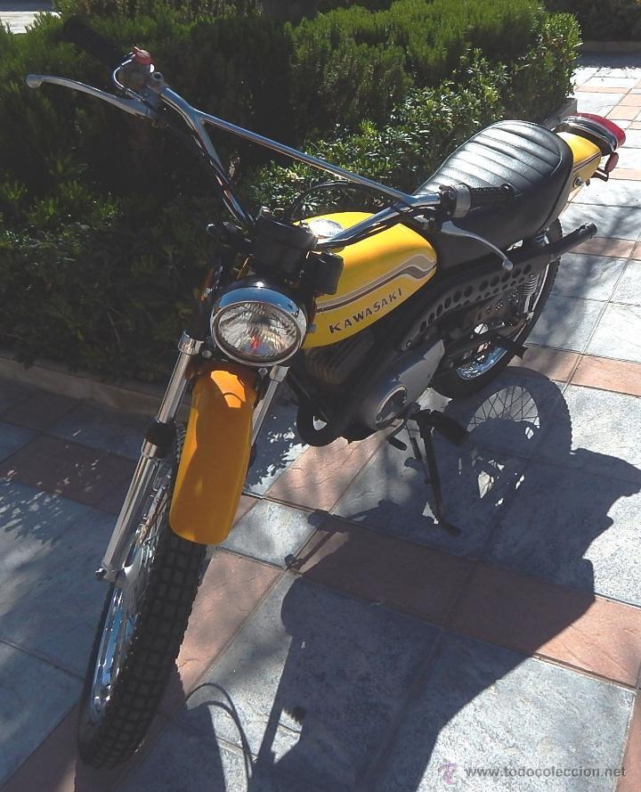 Motos: Moto Kawasaki G5, 100 cc., Año 1972, 5 marchas, Clásica, Totalmente revisada, Moto procedente de USA - Foto 4 - 42354881