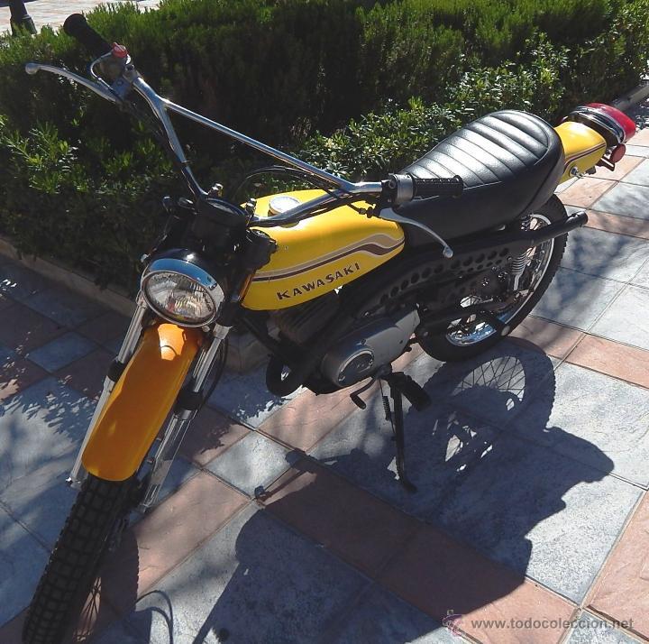 Motos: Moto Kawasaki G5, 100 cc., Año 1972, 5 marchas, Clásica, Totalmente revisada, Moto procedente de USA - Foto 5 - 42354881