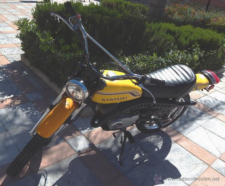 Motos: Moto Kawasaki G5, 100 cc., Año 1972, 5 marchas, Clásica, Totalmente revisada, Moto procedente de USA - Foto 6 - 42354881