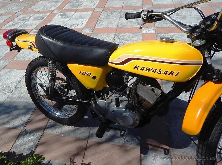 Motos: Moto Kawasaki G5, 100 cc., Año 1972, 5 marchas, Clásica, Totalmente revisada, Moto procedente de USA - Foto 9 - 42354881